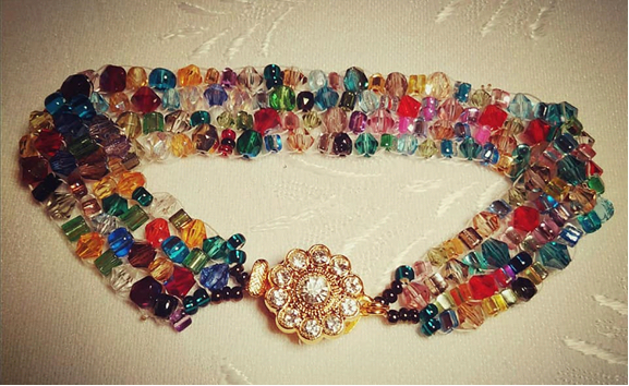 Czech glass bead jewellery
